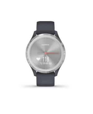 Unisex Vivomove 3S Granite Blue Silicone Strap Smart Watch 8.9mm