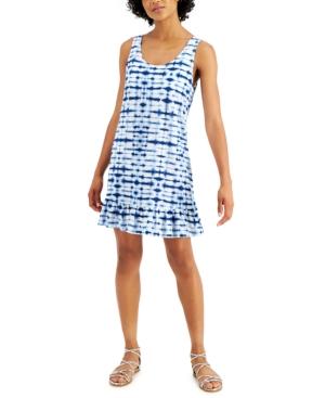 Ruffled-Hem Cover-Up Dress Women's Swimsuit