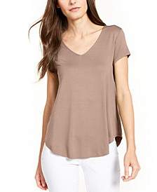 V-Neck Knit T-Shirt, Created for Macy's