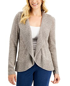 Petite Turbo Cocoon Cardigan, Created for Macy's