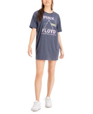 Juniors' Pink Floyd Graphic T-Shirt Dress