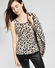 Cashmere Printed Tank Top, Created for Macy's