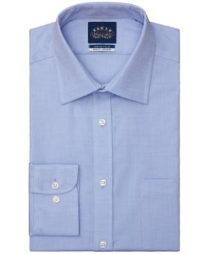 Men's Slim-Fit Non-Iron Stretch Collar Mini Neat Dress Shirt