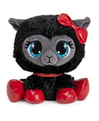 Gund P.Lushes Designer Fashion Pets Special-Edition Ba-Bah Noir Llama Premium Stuffed Animal, Black and Red, 6