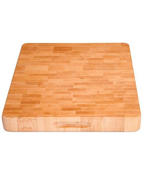 Catskill Craft Low Profile Slab Professional Grade End Grain Cutting Board Cutlery Knives Kitchen Macy S