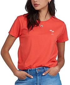 Juniors' Good Waves Cotton T-Shirt