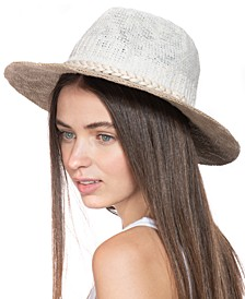 Colorblocked Panama Hat, Created for Macy's