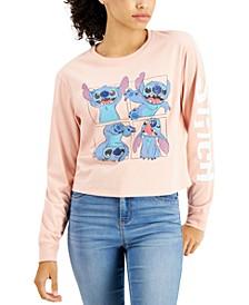 Juniors' Stitch Long-Sleeve T-Shirt