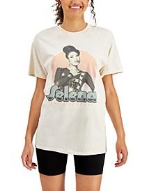 Love Tribe Juniors' Cotton Selena Graphic-Print T-Shirt