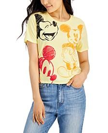 Juniors' Mickey Mouse Short-Sleeve T-Shirt