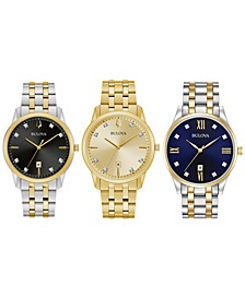 Men's Diamond-Accent Watch Collection