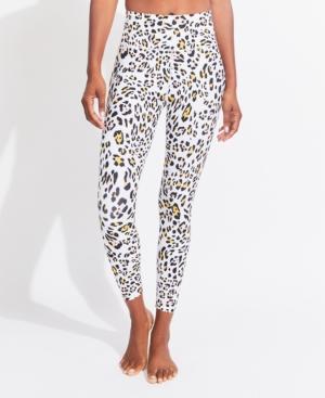 Women's High Rise Wavy Cheetah 7/8 Leggings