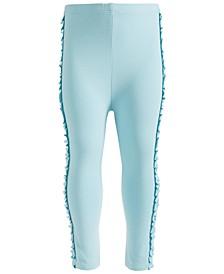 Baby Girls Side Ruffle Leggings, Created for Macy's