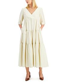 Tevere Tiered-Panel Maxi Dress