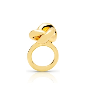 18k Gold Plated Jumbo Knot Ring