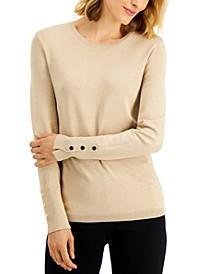 Metallic Sweater, Created for Macy's