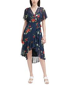 Petite High-Low Midi Dress