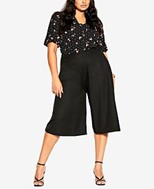 Trendy Plus Size Culotte Vibe Pants