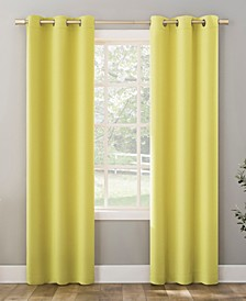 "Riley Kids Bedroom Blackout Grommet Curtain Panel, 95"" L x 40"" W"