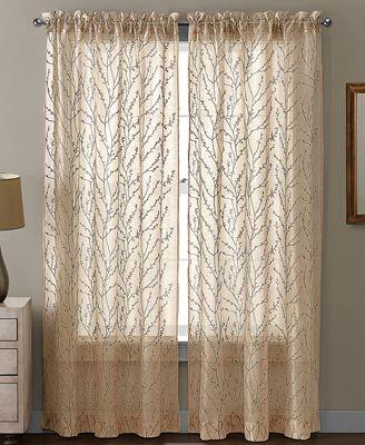 CLOSEOUT! Victoria Classics Sheer Berkley Window Treatment Collection