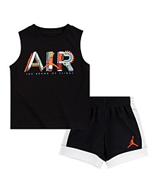 Little Boys T-Shirt and Shorts Set
