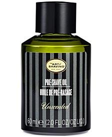 The Pre-Shave Oil, Unscented, 2 Fl Oz