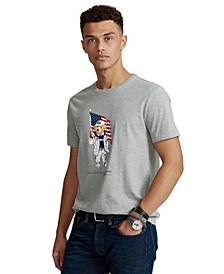 Men's ECOFAST Pure Team USA Polo Bear T-Shirt