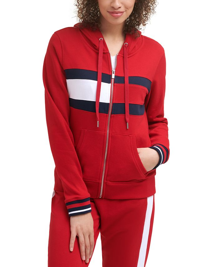 Tommy Hilfiger - Colorblocked Zippered Hoodie