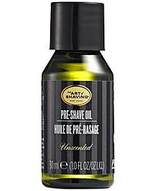 The Pre-Shave Oil, Unscented, 1 Fl Oz