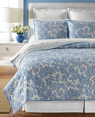 closeout martha stewart collection windfall quilts only at macy 39 s quilts bedspreads bed. Black Bedroom Furniture Sets. Home Design Ideas