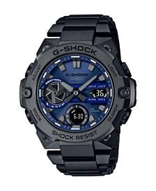 Black IP Stainless Steel G-Steel Watch 49.6mm