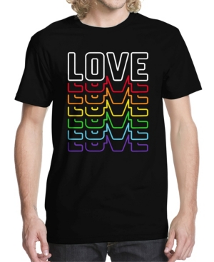 Men's Neon Love Graphic T-shirt