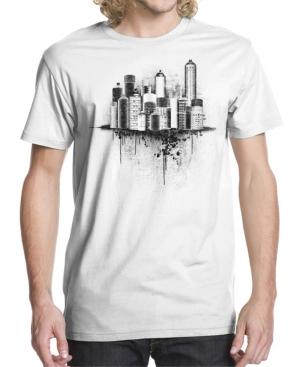 Men's Skyline Spray Graphic T-shirt