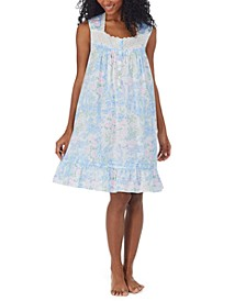 Printed Cotton Lawn Nightgown