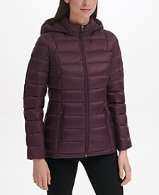 Women's Packable Down Puffer Coat, Created for Macy's