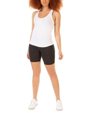 Stretch-Knit Biker Shorts