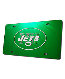 Rico Industries New York Jets Acrylic License Plate