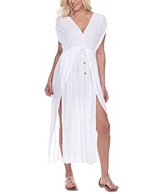 Front Slit Cover-Up Dress
