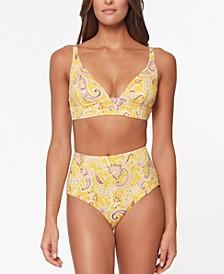 Divas in the Details Long Line Bikini Top & Bottoms