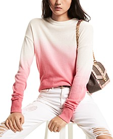 Dip-Dyed Cashmere Sweater