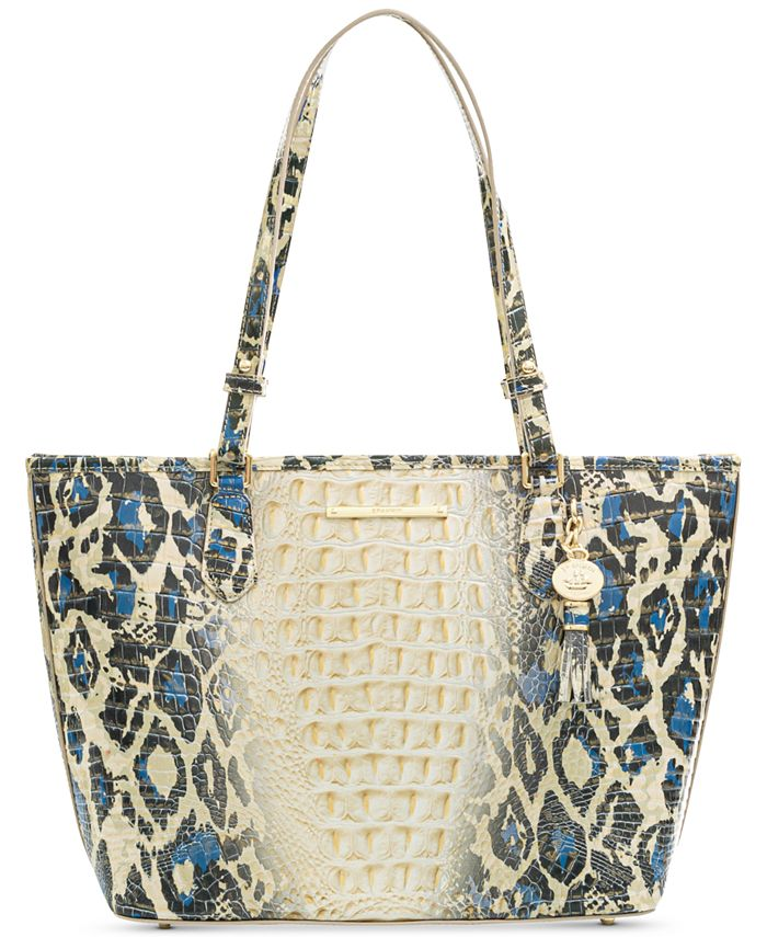 Brahmin - Medium Asher Ombre Melbourne Embossed Leather Tote