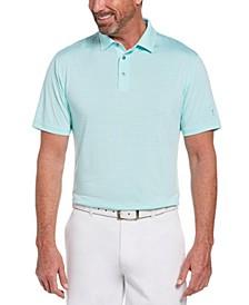 Men's Single Feeder Striped Polo Shirt