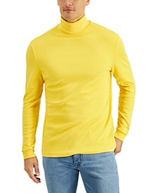 Men's Solid Turtleneck Shirt, Created for Macy's