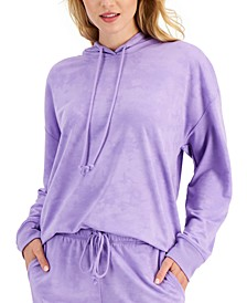 On Repeat Hooded Pajama Top, Created for Macy's