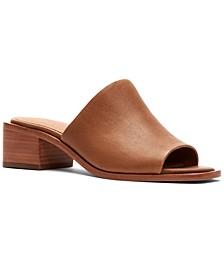 Women's Lucia Block-Heel Mules