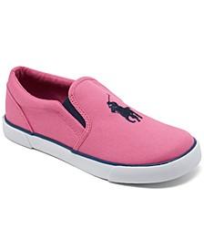 Little Girls' Bal Harbor 3 Slip-On Casual Sneakers from Finish Line