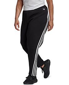 Plus Size Future Icons 3-Stripes Skinny Pants