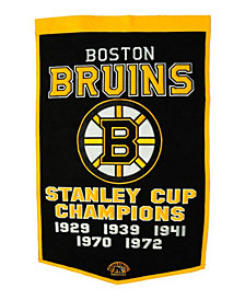 Winning Streak Boston Bruins Dynasty Banner