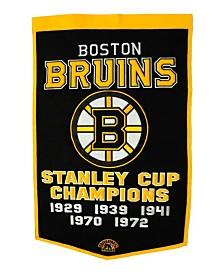 Winning Streak Boston Bruins Dynasty Banner