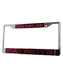Rico Industries New England Patriots Laser License Plate Frame